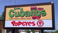 Dos Cubanos (Home Made Cuban Food), Paramus, NJ sign food is great you feel like you are in cuba as soon as you step a foot inside