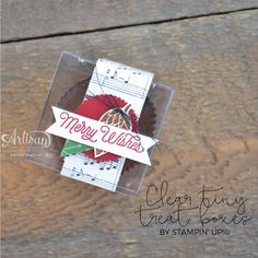 Stampin' Dolce: Christmas in July using Stampin' Up! This Christmas suite - Artisan Design Team Blog Hop