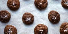 SALTED CHOCOLATE RYE COOKIES (rye flour, chocolate, butter)