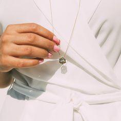 Noor Fares necklace Arrow Necklace, Pendant Necklace, Touching Herself, Delicate Jewelry, Girls Best Friend, Jewelry Design, Bling, Bronze, Jewellery