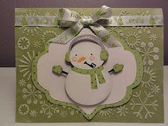 The Cricut Bug: Snowman In Green