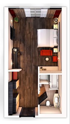 Master Bedroom Plans, Master Bedroom Layout, Bedroom Closet Design, Bedroom Layouts, House Layouts, Master Bedroom Addition, Bedroom Floor Plans, Studio Apartment Floor Plans, Studio Apartment Layout