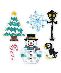 Perler bead christmas ideas
