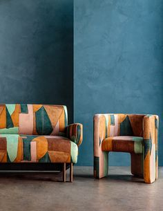 Enjoy the Expansive Winter 2020 Collection From Kelly Wearstler - Design Milk Kelly Wearstler, New Furniture, Furniture Design, Plywood Furniture, Chair Design, Casamance, Most Luxurious Hotels, Visual Comfort, Lounges