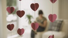 Heart curtain - Diy and Crafts Mix