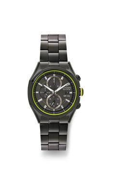 splurge-worthy – @Kerry MacKay  eco-drive men's black watch