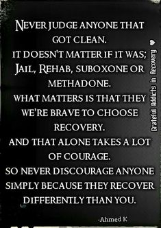 Many people struggling with drug addiction think that recovery is nearly impossible for them. They've heard the horror stories of painful withdrawal symptoms, they can't imagine life without drugs, and they can't fathom actually being able to get. Sobriety Quotes, Sobriety Gifts, Addiction Help, Addiction Therapy, Overcoming Addiction, Addiction Recovery Quotes, Recovering Addict, Celebrate Recovery, Mel B