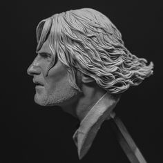 ArtStation - Aragorn - Lord of The Rings, Daniel Cockersell Oil Based Clay, Aragorn, Lord Of The Rings, Anatomy, Sculpting, Statue, Sculpture, The Lord Of The Rings, Sculptures