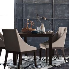 Fancier dining chairs...