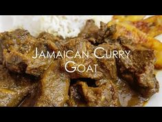 Tutorial starts at x Hi Chickens :) This is my Jamaican style curry goat recipe. Jamaican Dishes, Jamaican Recipes, Curry Recipes, Jamaican Cuisine, Jamaican Curry Goat, Jamaican Rice, Goat Recipes, Savoury Recipes, Appetizer Recipes