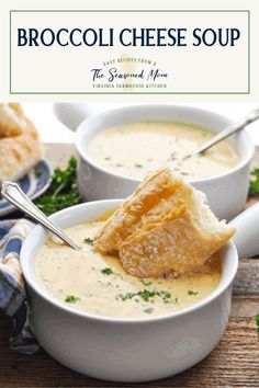 This copycat Panera Broccoli Cheese Soup recipe is a quick lunch or easy dinner for chilly days. Broccoli Cheddar Soup Recipe   Homemade Soup