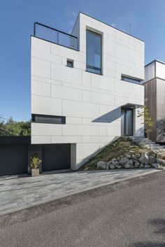 Villa in Slovakia. Compass Architects. EQUITONE facade materials. equitone.com