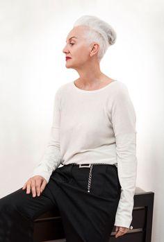 Jackie Burger, Editor of Elle Magazine SA. A beautiful mind, a beautiful woman.