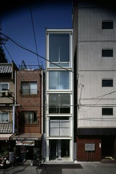 Waro Kishi - House in Nipponbashi http://k-associates.com/en/works/c0/12/House+in+Nipponbashi