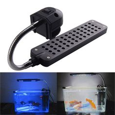 DC12V 3.5W 48LEDs Aquarium Light Lamp For Coral Reef aquatic animals Fish Tank Ornament EU Plug #>=#>=#>=#>=#> Click on the pin to check out discount price, color, size, shipping, etc. Save and like it!