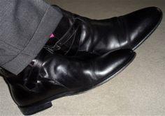 Fil à Fil pants, Hugo Boss jodhpur boots…