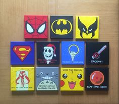 Miniature canvases #3