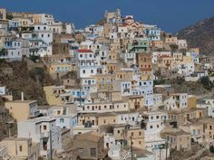 A typical greek village. Karpathos, Greece, Multi Story Building, Photo Wall, Summer, City, Photography, Summer Time, Grease