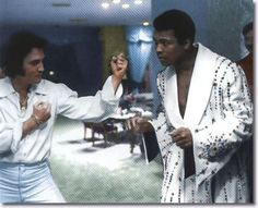 Elvis and Mohammed Alli
