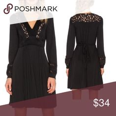 Selling this Black Longsleeve Lace DRESS on Poshmark! My username is: austin_gal. #shopmycloset #poshmark #fashion #shopping #style #forsale #Dresses & Skirts