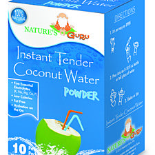Instant Tender Coconut Water Powder, 10-count (Pack of 2)