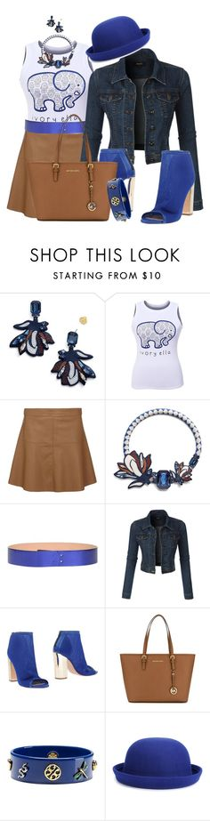 """""""WHALE by DaNewMeh"""" by thchosn ❤ liked on Polyvore featuring Tory Burch, Dorothy Perkins, Golden Goose, LE3NO, Marc Ellis, MICHAEL Michael Kors and WithChic"""
