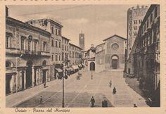Orvieto Piazza del Municipio viaggiata animata     C317