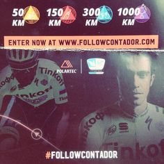 Don't loose your time and start #followcontador for a chance to win 5 days of #cyclingtraining with @acontadoroficial and the @fundacioncontadorteam!!! And see you at Gran Canaria!  #ridelikeagirl #outsideisfree #igerscycling #womenscycling #polartec #cycling #strongher #bikegirls #lovecycling #ridelikeagirl #followme #contador #ciclismo #velo #tinkoff