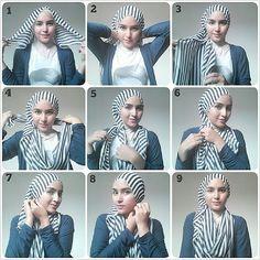 .@zahratuljannah | #hijabstyle kalo lagi buru2, gampang bgt..semoga bermanfaat :) #hijabtutorial... | Webstagram - the best Instagram viewer