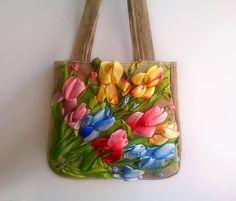 Messenger bag  Blue Messenger bag  Bag and Purses by Vogue2014, $85.00
