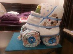 Diaper Cart for Baby Shower