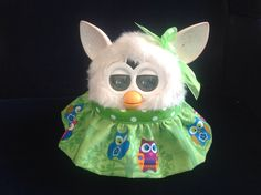 """Outfit for Furby and New Furby Boom Handmade Clothes """"Who Who"""" 