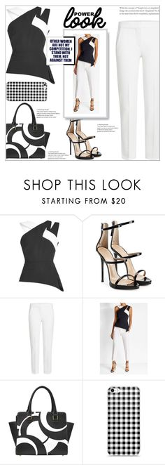 """Girl Power"" by atelier-briella ❤ liked on Polyvore featuring Roland Mouret, Giuseppe Zanotti, MaxMara, chic, Elegant and MyPowerLook"