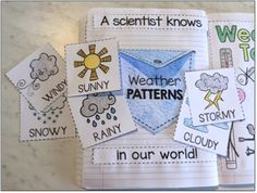 Science Interactive Notebooks: Weather Patterns