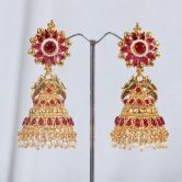 traditional-south-indian-jhumka-earrings