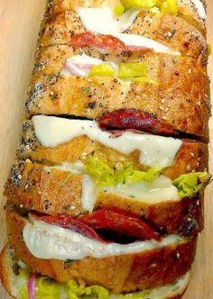 Italian Deli Crazy Bread