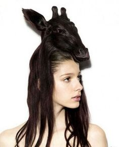 sculpture sur cheveux Nagi Noda