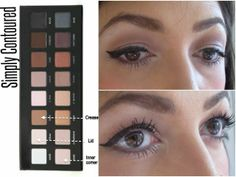 5 Looks With The Lorac Pro Palette - Simply contoured