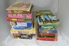 Large Lot of Puzzles Some Vintage Charles Wysocki's and More #Mixed