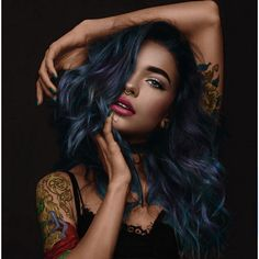 Interesting Hairdressing Tips You Should Use – Hair Wonders Tattoo Photography, Photography Women, Portrait Photography, Sexy Tattoos, Body Art Tattoos, Girl Tattoos, Tattoo Model Mann, Tattoed Women, Beste Tattoo