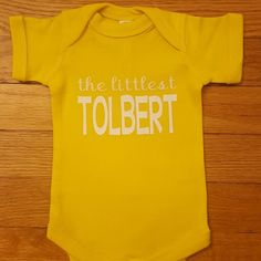 Newest custom onesie, so cute!!