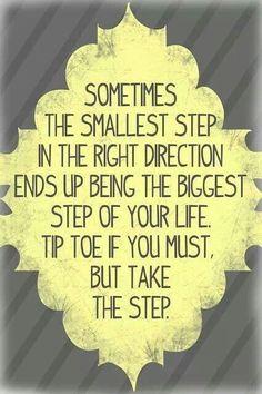 Encouragement...this