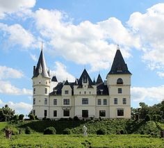 Andrássy Castle, Tiszadob, Szabolcs-Szatmár-Bereg, Northern Great Plain, Hungary. www.castlesandmanorhouses.com The Andrassy Palace was built in the second half of the 19th century on the model of the chateaux of the Loire Valley, in the neo-Gothic,...