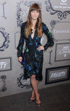 Jessica Biel in Fall 2012 Gucci