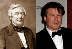 Millard Fillmore - Alec Baldwin (Image of Alec Baldwin provided by Getty Images)
