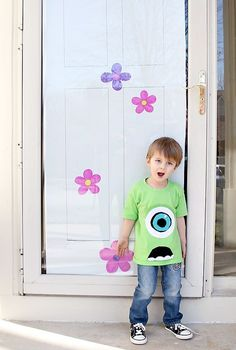 monsters inc birthday party ideas | Monsters Inc. Themed Birthday Party