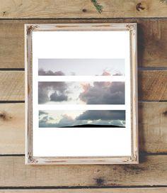 Clouds Photo Printable Wall Art Modern Art by 2LittleCrownsPrints