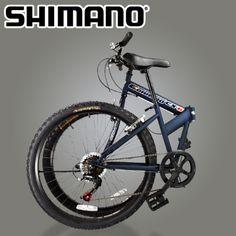 "$50 Starting Bid: 26"" 6-Speed Folding Mountain Bike https://www.outbid.com/auctions/1663#11"