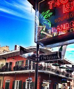 Bourbon Street. New Orleans, LA