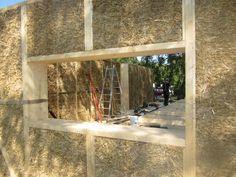 Forschungsgebäude aus Holz, Stroh und Lehm - Architekt Dirk Scharmer